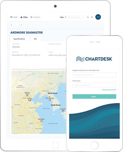 ChartDesk app